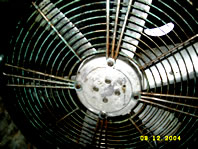 Kitchen Extract Fan after cleaning photo